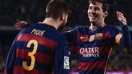 Pique: 'Ngay Messi roi Barca se giong nhu ngay mat cha' - Anh 1