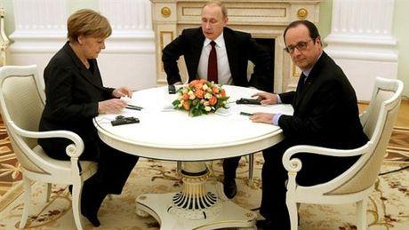 'Bo ba' Putin, Merkel va Hollande nhom hop ve Syria - Anh 1