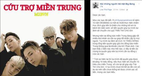 Fans Kpop chung tay ung ho dong bao mien Trung bi lu lut - Anh 4