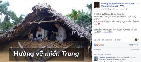 Fans Kpop chung tay ung ho dong bao mien Trung bi lu lut - Anh 5