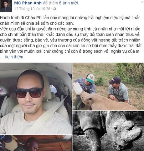 MC Phan Anh va nhung lan gay bao mang xa hoi - Anh 3
