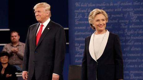 Nhung diem nong cua buoi 'chung ket' tranh luan Trump - Clinton - Anh 1