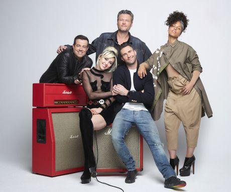 Blake hon 'ngau nghien' Adam, Miley Cyrus se roi 'The Voice My' mua toi - Anh 3