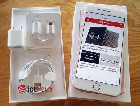 iPhone 7 du kien ve Viet Nam dau thang 11 - Anh 1