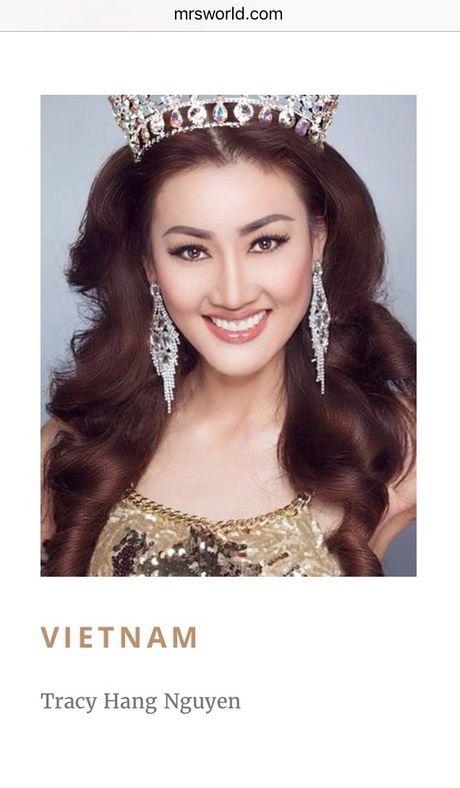 Tracy Hang Nguyen du thi Hoa hau quy ba the gioi 2016 - Anh 1