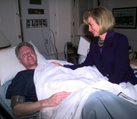Khoanh khac tinh tu cua ong ba Clinton - Anh 12