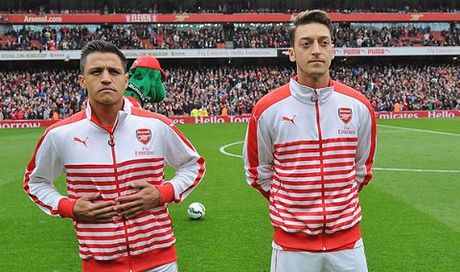 CAP NHAT toi 19/10: Wenger tiet lo cach giu Sanchez va Oezil. Man United 'cuop' 8 trieu CDV tu PSG - Anh 1