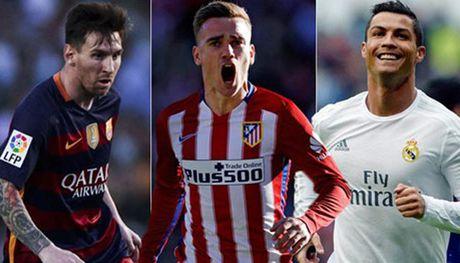 Antoine Griezmann: 'Toi gioi gan bang Messi va Ronaldo roi' - Anh 1