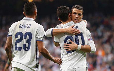 Bale ghi sieu pham, Real Madrid thang 5-1 Legia Warsaw - Anh 1