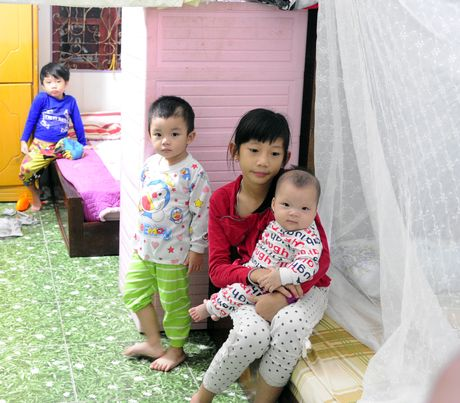 Bao so 7 do vao Hai Phong: Chuyen chay bao cho nguoi khuyet tat - Anh 2