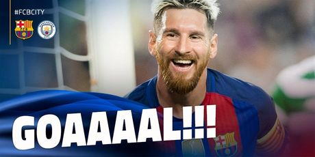 TRUC TIEP Barcelona 1-0 Manchester City: Leo Messi mo ti so - Anh 1