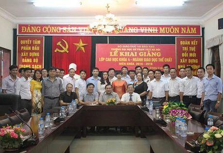 Thông báo mời dự hội trường ĐHSP Thể dục Thể thao Hà Nội