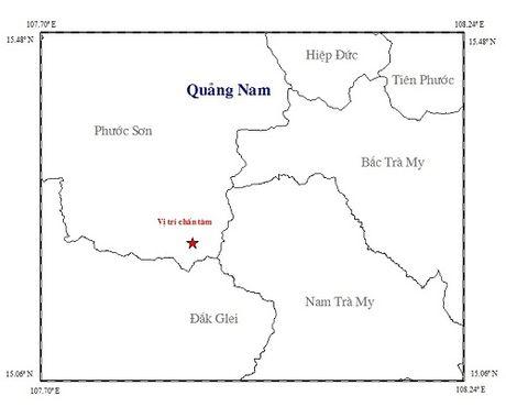 Tiếp tục xảy ra động đất tại tỉnh Quảng Nam