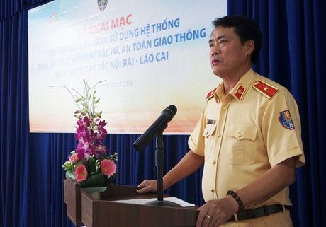 Sắp phạt 'nguội' trên cao tốc Nội Bài – Lào Cai