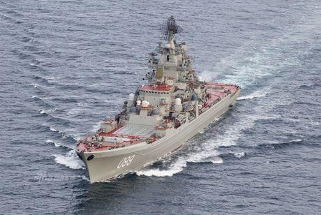 Mãi chú ý TSB Kuznetsov, NATO quên siêu hạm hạt nhân Kirov?