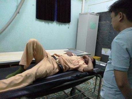CSGT bị thanh niên đâm xe: Không phải do cố tình