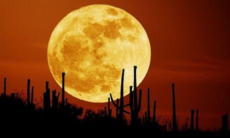 Siêu trăng ở Việt Nam ngày 14/11/2016 cực đại lúc mấy giờ?