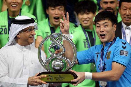 Hyundai Jeonbuk bị loại khỏi Champions League 2017