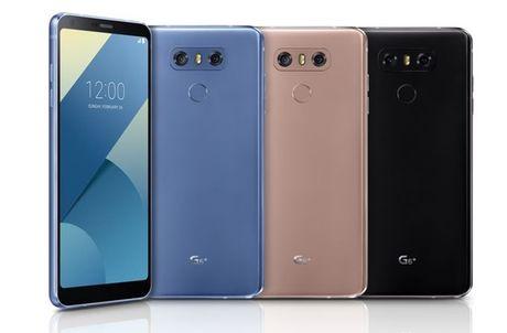 LG bat ngo ra mat LG G6+ va them mau sac cho G6 - Anh 1