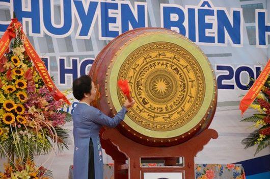 Phó Chủ tịch nước dự Lễ khánh thành và khai giảng Trường THPT chuyên Biên Hòa