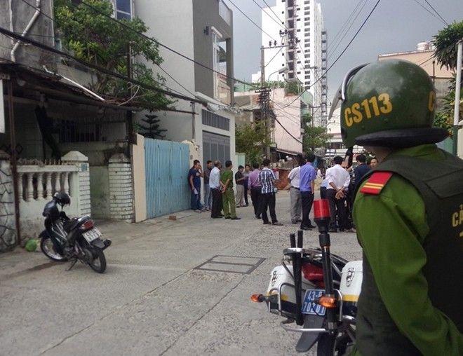 Súng nổ ở Đà Nẵng, người đàn ông đưa con đi học trúng đạn