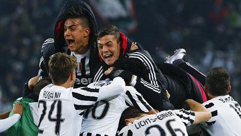 Đánh bại Napoli, Juventus vươn lên ngôi đầu Serie A