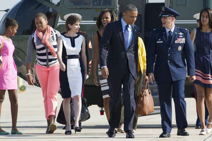 Soi gu thời trang phái đẹp nhà Obama